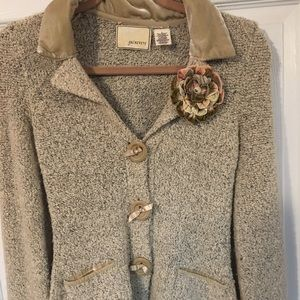 Anthropologie Guinevere Small Jacket